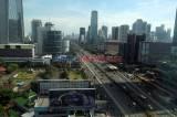 Begini Kondisi Lalu Lintas di Hari Terakhir PSBB Tahap Tiga Jakarta