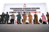 Gubernur Nurdin Abdullah Hadiri Pencanangan Gerakan Bersama Penanganan COVID-19 Makassar