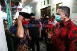 Wawali Surabaya Whisnu Sakti Sambangi Kampung Tangguh