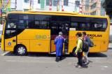 Alih Fungsi Bus Sekolah untuk Evakuasi Pasien Covid-19
