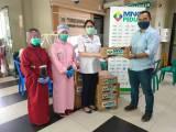 Bantuan Makanan dan Minuman Ringan MNC Peduli ke 4 Puskesmas di Jakarta Timur