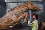 Patung-Patung Akar Kayu Jati Kokoh Menembus Pasar Dunia