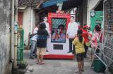 Gibran Blusukan Virtual Saat Kampanye di Perkampungan Solo