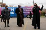 Capres Kamala Harris Berkampanye di Detroit Michigan