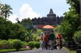 Liburan Cuti Bersama di Candi Borobudur