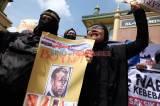 Aksi Boikot Produk Prancis di Medan