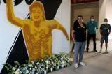 Mural Mendiang Diego Maradona Terpampang di Luar Stadion Dorados Meksiko