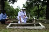 Sambut HUT Armada RI, Lanal Cilacap Ziarah di TMP Sureng Rono