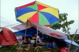 Memilih Tempat Aman dari Gempa, Warga Mamuju Mengungsi di Kawasan Stadion Manakarra