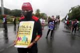 Buruh Kembali Turun ke Jalan Tolak Omnibus Law Cipta Kerja