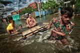 Banjir Rendam Permukiman Warga di Kawasan Antang Blok 10 Makassar