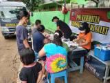 Peduli Korban Banjir Manado, Biddokkes Polda Sulut Gelar Pelayanan Kesehatan Gratis