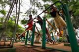 Taman Kota Waduk Pluit Kondisinya Semakin Memprihatinkan