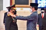 Jokowi Lantik Listyo Sigit Prabowo Sebagai Kapolri