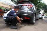 Pemilik Kendaraan Antusias Ikuti Uji Emisi Gratis