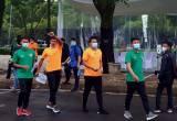 Tiba di Istora Senayan, 820 Atlet, Pelatih dan Official Jalani Vaksinasi Covid-19