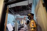 Ruang Rawat Inap RSUD Mardi Waluyo Rusak Parah Terdampak Gempa Malang