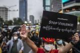 Aksi Gowes untuk Demokrasi di Myanmar