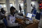 Cegah Pemudik, Petugas Lakukan Pengetatan Penumpang di Terminal Leuwipanjang