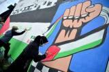 Dukung Palestina Lewat Mural