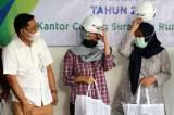 Tekan Angka Kecelakaan Kerja, BPJamsostek Cabang Surabaya Rungkut Serahkan APD Jasa Konstruksi