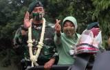 Suasana Haru Iringi Peralihan Tongkat Komando Danyonif Raider 400/BR