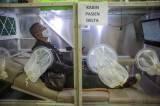 Kabin Pasien Covid-19 di Pasar Andir Bandung