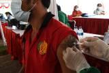 Vaksinasi Covid-19 Warga Binaan Lapas Madiun