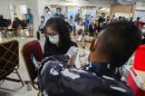 Peringati HUT TNI AL ke-76, Pushidrosal Gelar Serbuan Vaksinasi Covid-19