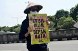 Aksi Tolak Bala Stop Bencana