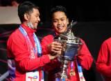 Potret Kemenangan Indonesia Merebut Kembali Piala Thomas ke Pangkuan Ibu Pertiwi