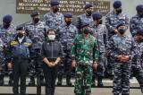 Panglima TNI dan Dua Menteri Terima Brevet Kehormatan Hidro-Oseanografi TNI AL