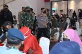 Panglima TNI Apresiasi Kepedulian Akabri 99 Bantu Percepatan Program Vaksinasi Pemerintah