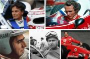 Formula 1, Ini Lima Pembalap Tersukses di Lintasan