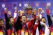 Momen Sejarah Paling Dramatis Jepang Juara Piala Thomas