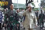 Prabowo dan Kasad Andika Semangati Taruna dan Taruni Akmil