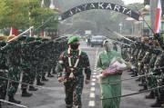 Kodam Jaya Gelar Tradisi Penyambutan Pangdam Baru Mayjen TNI Dudung Abdurachman