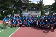 Turnamen Tenis STC Dibuka Ketua Pelti Pengprov Jabar
