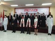 PERADI Pergerakan Dilantik, Ketua Dorong Pemahaman Politik Hukum Para Advokat