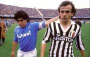 Rivalitas Michel Platini dan Diego Maradona