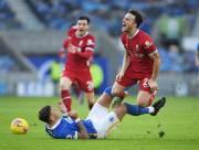 Liverpool Kembali ke Puncak Klasemen Usai Ditahan Imbang Brighton