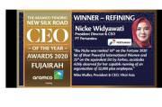 Dedikasi Bangun Kemajuan Industri Migas, Aramco Trading Nobatkan Nicke Widyawati Top CEO 2020