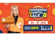 ShopeePay Mantul Sale (SMS) Hadirkan Gratis Ongkir Rp0 dan ShopeePay Deals Rp1 Saban Bulan!