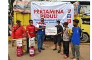 Pulihkan Masyarakat Terdampak Bencana, Pertamina Peduli Salurkan Bantuan Hingga Rp1 Miliar