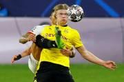 Bukukan Brace dan Ukir Rekor di Liga Champions, Haaland Semringah