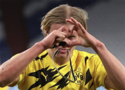 Erling Haaland Si Mesin Gol Borussia Dortmund