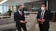Bertemu CEO Dubai Islamic Bank, BSI Bahas Potensi Kerjasama Internasional