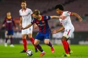 Babak I: Dembele Bikin Gol, Barcelona Kejar Sevilla
