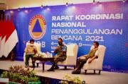 Rakornas BNPB, Danrem Wira Bakti Contohkan Penanganan Gempa Lombok