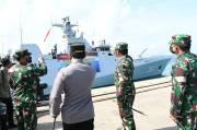 Cegah Penyelundupan Senjata, KRI Sultan Iskandar Muda Patroli di Perairan Lebanon